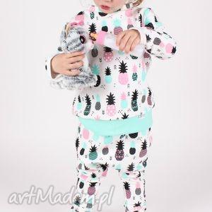 dresiaki w ananasy, dres, bluza, spodnie, wiosna, dziecko, ananasy dla dziecka