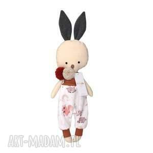 lala przytulanka króliczek maks, przytulanka, handmade
