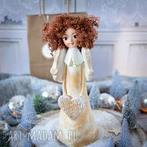 dekoracje wyjątkowy anioł stróż, wykonany dłońmi, z czułością personalizacja