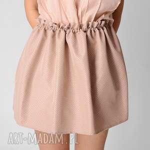 ręczne wykonanie spódnice dwustronna żakardowa spódnica