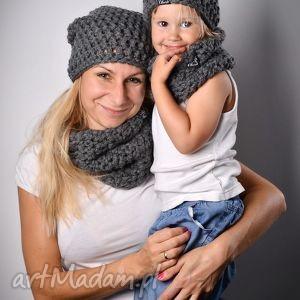 Czapka Monio 07, czapka, dziecko, szydełko, wełna, włóczka, zima