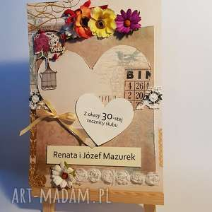 kartka na zamówienie - a4 - rez p magda - kartka, zamówienie, a4, rocznica