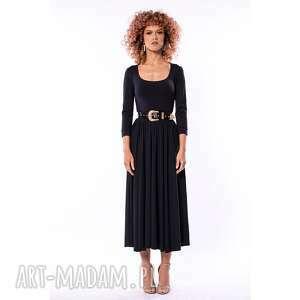 rachela - sukienka, kobieca, elegancka, minimalistyczna