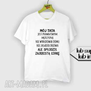 koszulki koszulka z nadrukiem dla taty, tata, super najlepszy tatuś, ojciec