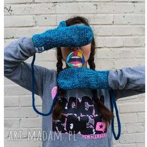 rękawiczki mode 9 - braininside, handmade, rękawiczki, dwupalczaste, zima