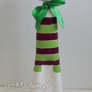 kot w marynarskiej bluzce, ceramika, dom, święta prezent