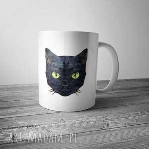 Kubek z kotem , kot, kubek, kuchnia, dom, grafika, wnętrze