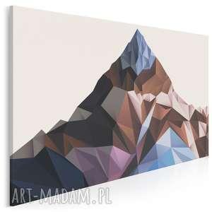 Obraz na płótnie - góra kryształy 120x80 cm 60301 vaku dsgn