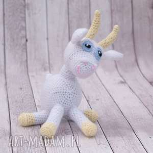kózka melunia mini przytulanka maskotka mała koza lub kozioł, amigurumi, zabawka