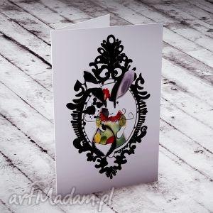 kartki wielkanocna karteczka z panią zającową, kartki, wielkanocne, życzenia, królik