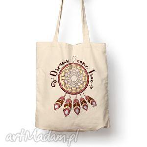 torba - łapacz snów, torba, bawełna, eco, prezent, sen