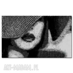 obraz xxl kobieta 36 -120x70cm design na płótnie, obraz