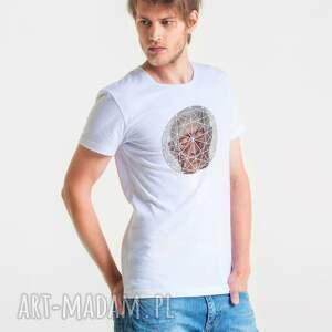 ręczne wykonanie koszulki hexagon head t-shirt męski