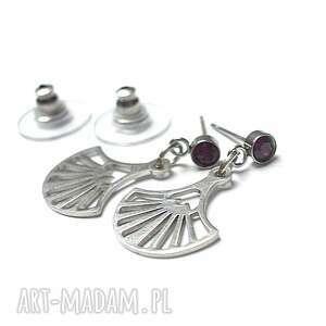 Alloys Collection /wchlarze ruby / - kolczyki , stal, szlachetna, chirurgiczna