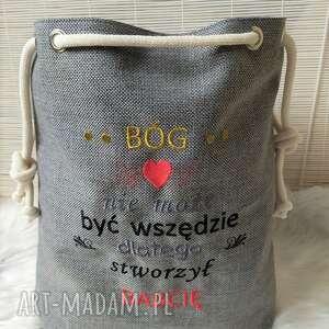 na ramię torba worek prezent dzień babci, torba, worek, shopperka, dzień, babci