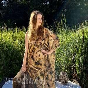 Batik sukienka sukienki ququ design boho, maxi sukienka, batik