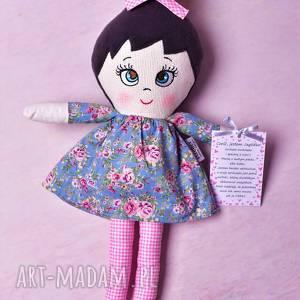 handmade lalki lalka szmacianka józefinka (opis pudełko)