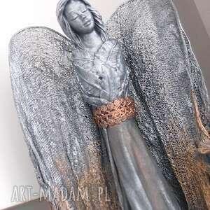 dekoracje anioł dostatku, stróż, figura anioła, ozdoba, prezent do domu