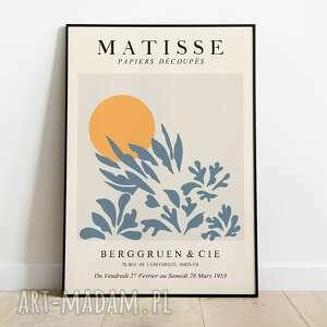 plakaty ►henri matisse, inspiracja, plakat wystawowy