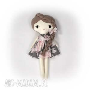 lalki lalka przytulanka paulinka, 45 cm, lala, szmaciana, prezent
