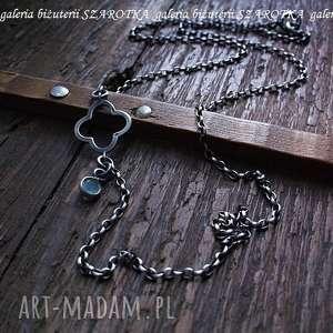 handmade naszyjniki prywatne oczko wodne naszyjnik z amazonitu i srebra