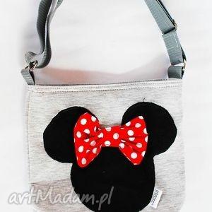 Prezent Minie - dresowa, torba, prezent, torebka, przedszkole, myszka, mickey