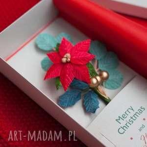 handmade pomysł na świąteczny prezent karteczki 3d prezent. Super pudełko