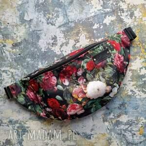handmade nerki nerka saszetka pojemna w kwiaty