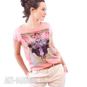 bluzka z plakatem osiem i pół, bluzka, sztuka, film, plakat, artystyczna