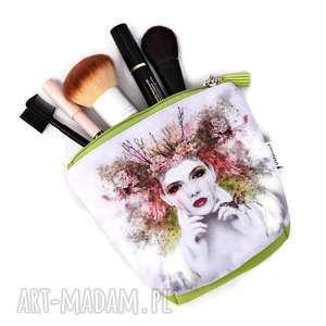 Kosmetyczka wodoodporna, saszetka do torebki, mała do kobieta