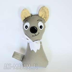 maskotki wilczek torebkowy - radzio 24 cm, wilk, maskotka, przytulanka, bajka