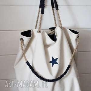 na ramię torba xl, torba, torebka, damska, letnia, plażowa, bawełniana, prezent