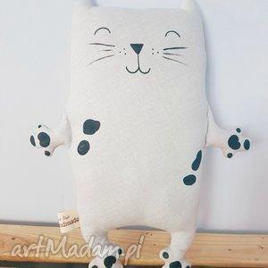 hand made maskotki kotek przytulaczek