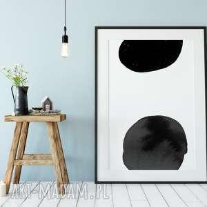 plakaty plakat minimalistyczny abstrakcja b&w