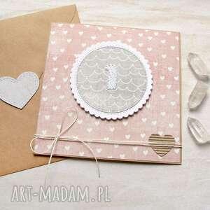 kartki na roczek - kartka handmade dla dziewczynki, roczek, dziewczynka