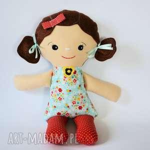 upominek święta Cukierkowa lala - Elka 40 cm, lalka, dziewczynka, folk, niemowlę