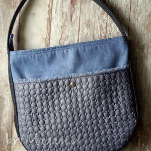 d7626428a1e80 torba hobo z kieszenią - Na ramię