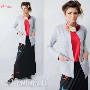 Marynarka szara, marynarki, wygoda, trendy, 3foru, styl, fashion