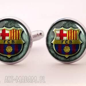fc barcelona - spinki do mankietów - barcelona, sportowy, klub, spinki, mankietów