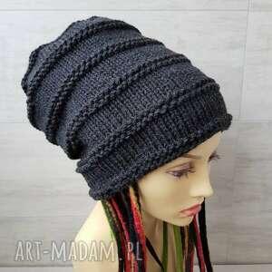 czapki czapka oversized super beanie idealna dla osób z dredami na zamówienie