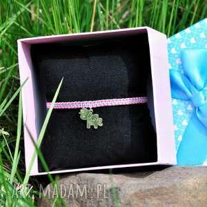 bransoletka z jendnorożcem dla dziewczynki / jednorożec, dziecięca