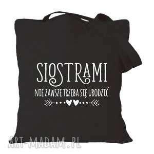 torba z nadrukiem dla siostry, siostrzyczki, prezent, urodziny, święta, młodsza
