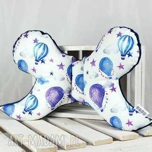 motylek- poduszka antywstrząsowa balony, antywstrząsowa, poduszka, motylek, niemowlak