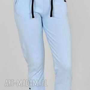 trzyforu spodnie skinny gloria niebieska chmurka, ubrania, sportowe