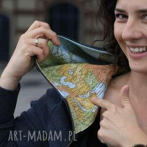bluzy rozpinana z mapą, bluza, rozpinana, mapa, atlas, kangurka, święta