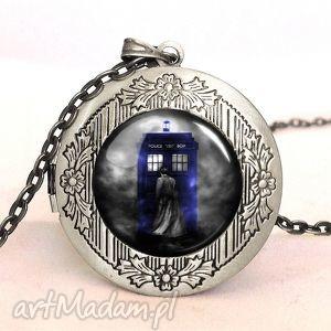 doctor who - sekretnik z łańcuszkiem egginegg - naszyjnik prezent