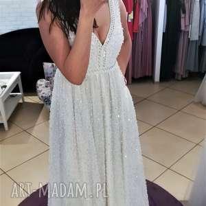 Suknia ślubna nowa, model z salonu - wyprzedaż kolekcji rozmiar