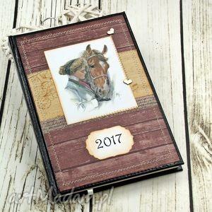 shiraja kalendarz książkowy 2017- przyjaźń, kalendarz, konie, notatnik, 2017