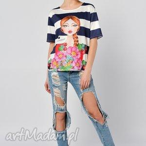 KOSZULKA - ARNIKA BOTANIKA, bluzka, shirt, koszulka, nadruk