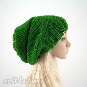 handmade czapki trawiasta:) czapa
